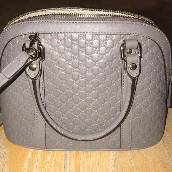f80df0a34667 Gucci Handbags - GUCCI authentic Microguccissima Mini Dome Bag